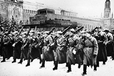 Desfile del 7 de noviembre de 1941