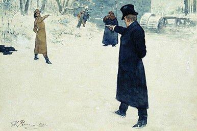 Historia de los duelos en Rusia