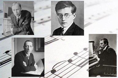 Música clásica rusa de finales del siglo XIX y siglo XX