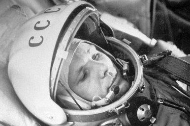 El primer vuelo del hombre al espacio