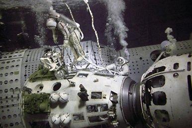 La preparación de los cosmonautas para vuelos espaciales