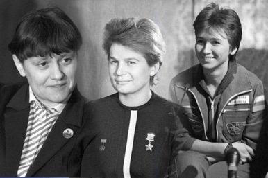 Mujeres rusas en el espacio