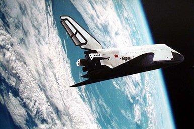 El transbordador espacial Burán