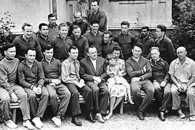 El primer grupo de cosmonautas
