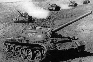 El tanque T-54/55