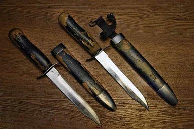 El cuchillo de combate NR-40