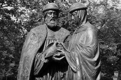 San Pedro y santa Febronia
