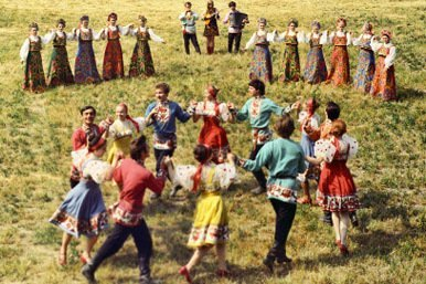 Bailes tradicionales rusos