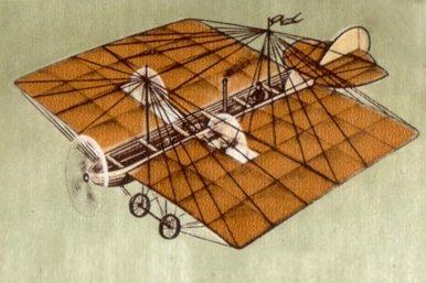 El primer avión